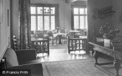 Catterick, Bridge House Hotel, The Dining Room 1939