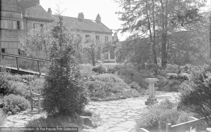Photo of Catterick, Bridge House Hotel, The Rock Garden 1939