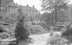 Catterick, Bridge House Hotel, The Rock Garden 1939