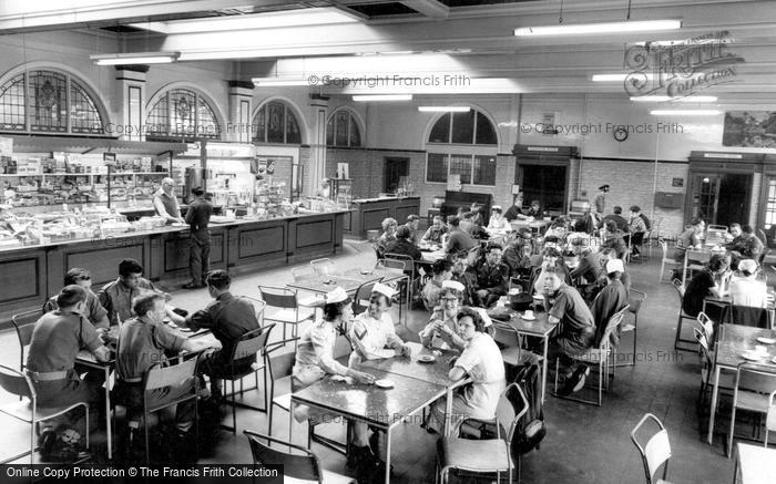 Photo of Catterick, Camp Canteen, Sandes Soldiers Home c.1960