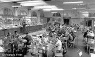 Catterick, Camp Canteen, Sandes Soldiers Home c1960