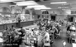 Catterick, Camp Canteen, Sandes Soldiers Home c.1960