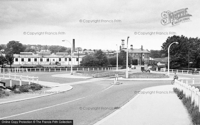 Photo of Catterick, Camp Centre 1955