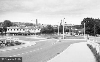 Catterick, Camp Centre 1955