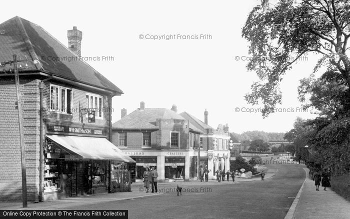 Photo of Catterick, Camp, Richmond Road 1953