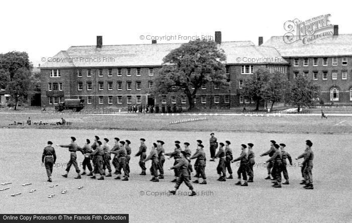 Image result for Catterick camp circa 1950