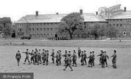 Catterick, Camp, Kemmel Lines c1955