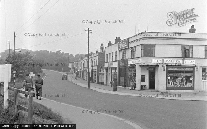 Photo of Catterick, Catterick Road 1953