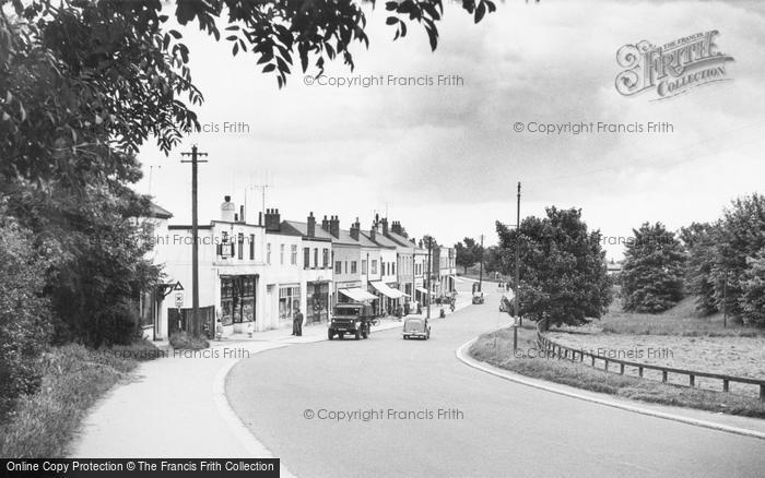 Photo of Catterick, Catterick Road 1955