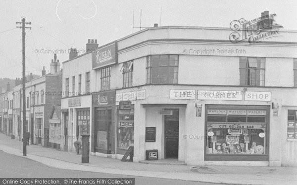 Photo of Catterick, Catterick Road, The Corner Shop 1953