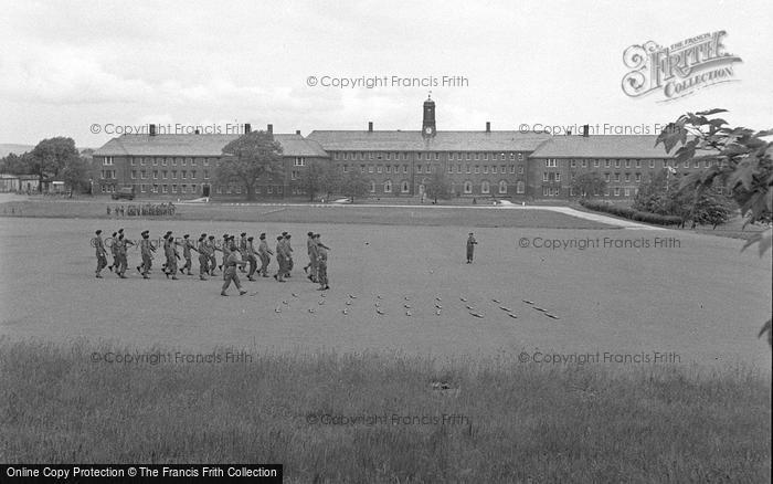 Photo of Catterick, Druggon House, Catterick Camp 1955