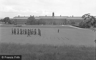Catterick, Druggon House, Catterick Camp 1955