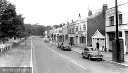 Catterick, Main Road c.1960