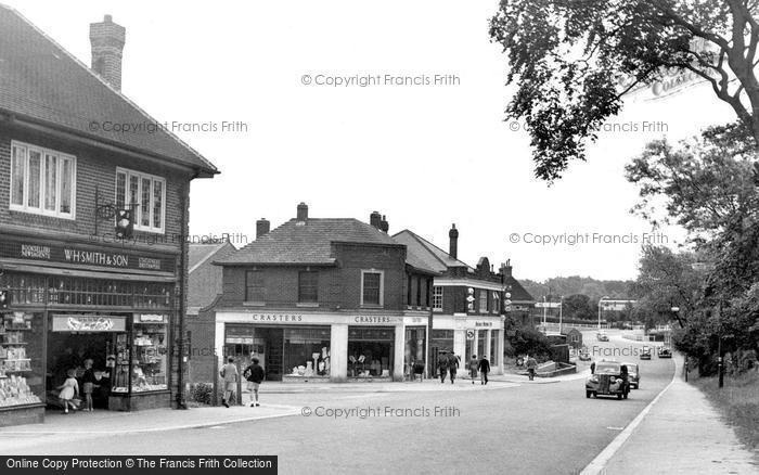 Photo of Catterick, Richmond Road 1955