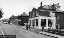 Catterick, Richmond Road c.1965