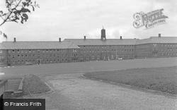 Catterick, Sandhurst Block, Catterick Camp 1955