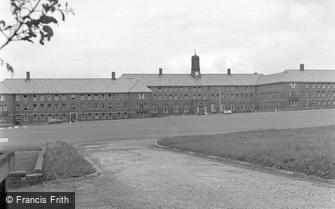 Catterick, Sandhurst Block, Catterick Camp 1955