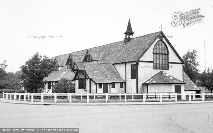 Photo of Catterick, St Oswald's Church 1955