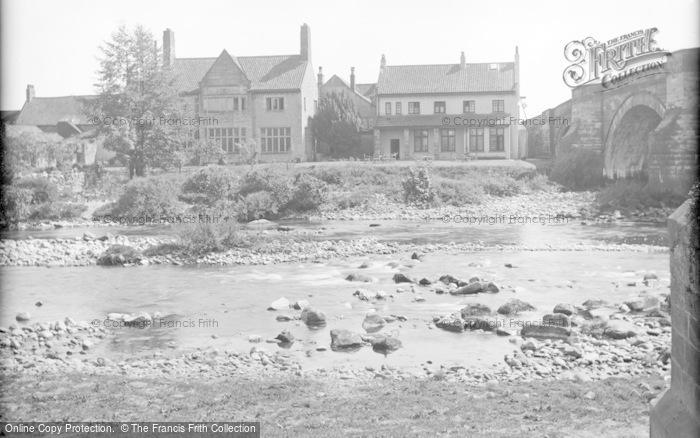Photo of Catterick, The Bridge House Hotel c.1939