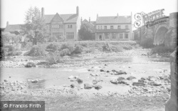 Catterick, The Bridge House Hotel c.1939