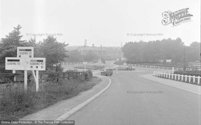 Photo of Catterick, The Camp Centre 1953