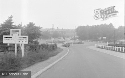 Catterick, The Camp Centre 1953