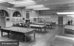 Catterick, The Games Room, Sandes Soldiers Home c.1955