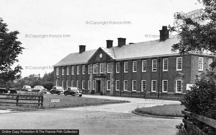 Photo of Catterick, The Garrison Headquarters 1955