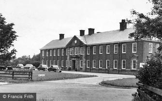 Catterick, the Garrison Headquarters 1955