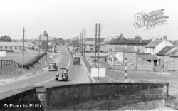 Catterick, The Great North Road c.1950
