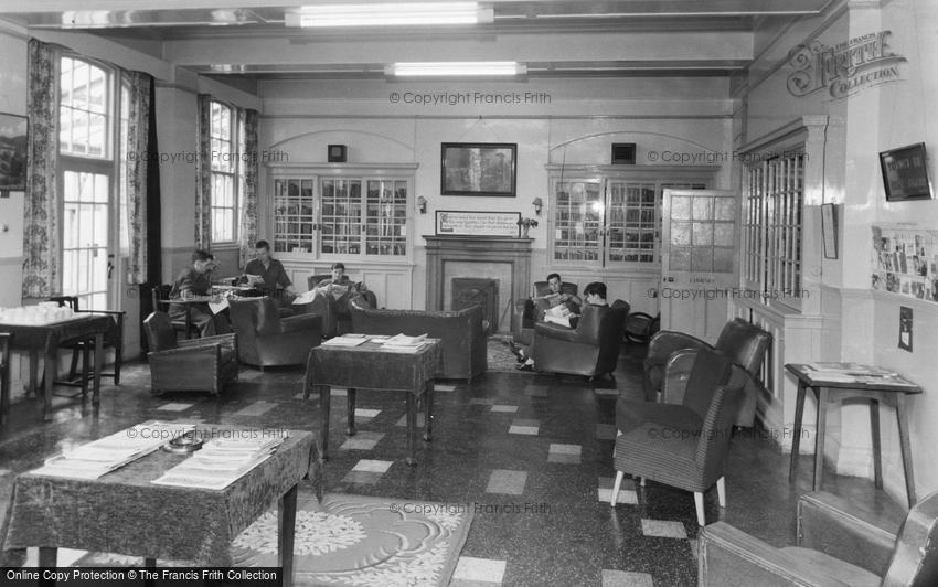 Catterick, the Library, Sandes Soldiers Home c1955