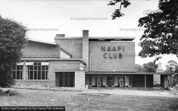 Photo of Catterick, The Naafi Club 1955