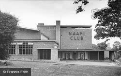 Catterick, The Naafi Club 1955