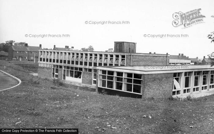 Photo of Catterick, The Naafi, Helles Camp c.1960