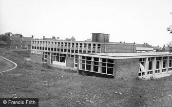 Catterick, the NAAFI, Helles Camp c1960
