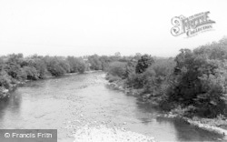 Catterick, The River Swale c.1950