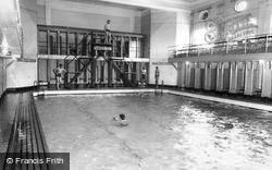 Catterick, The Swimming Baths, Sandes Soldiers Home c.1960