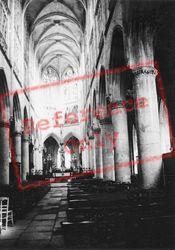 The Church Interior 1964, Caudebec-En-Caux
