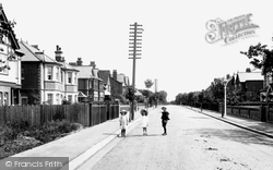 Caversham, Albert Road 1908