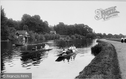 Caversham, Boating On The Thames 1917