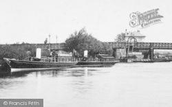 Caversham, Bridge And Salter's Steamers 1893