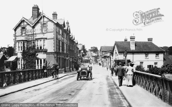 Caversham, Bridge Street 1908