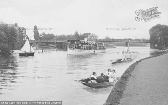 Photo of Caversham, Caversham Bridge 1917