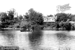 Caversham, Church And Rectory 1904