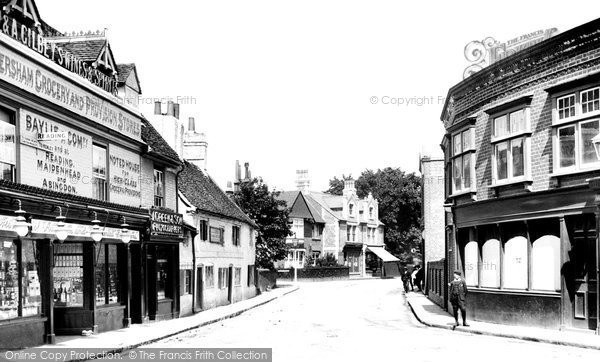 Photo of Caversham, Church Street 1908