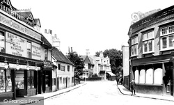 Caversham, Church Street 1908