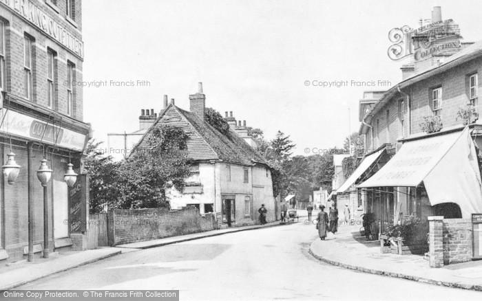 Photo of Caversham, Church Street c.1910
