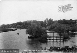 Caversham, From Bridge 1901