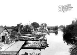 Caversham, From The Bridge 1890