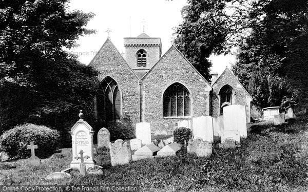 Photo of Caversham, St Peter's Church 1908